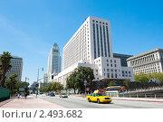 Купить «Вид на здание суда в Лос-Анджелесе. США», фото № 2493682, снято 14 апреля 2011 г. (c) Екатерина Овсянникова / Фотобанк Лори