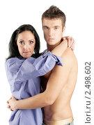 Купить «Юноша и взрослая женщина», фото № 2498602, снято 10 ноября 2010 г. (c) BestPhotoStudio / Фотобанк Лори