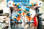 Фрагмент металлообрабатывающего оборудования, фото № 2501558, снято 19 мая 2017 г. (c) Дмитрий Калиновский / Фотобанк Лори