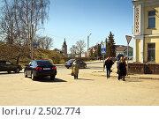 Купить «Город Юрьев-Польский», фото № 2502774, снято 18 апреля 2011 г. (c) Сергей Лаврентьев / Фотобанк Лори