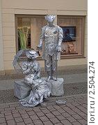 Купить «Живая скульптура на пешеходной улице в Потсдаме. Германия.», фото № 2504274, снято 26 марта 2011 г. (c) GrayFox / Фотобанк Лори