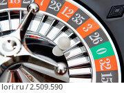 Купить «Рулетка. Крупный план», фото № 2509590, снято 3 сентября 2010 г. (c) Татьяна Белова / Фотобанк Лори