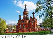 Купить «Преображенская церковь. Город Брянск», фото № 2511154, снято 1 мая 2011 г. (c) Александр Шилин / Фотобанк Лори