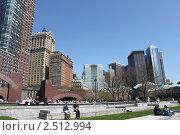 Купить «Нью-Йорк. Батарейный парк», фото № 2512994, снято 26 апреля 2011 г. (c) Юлия Козинец / Фотобанк Лори