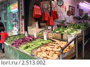 Купить «Нью-Йорк. Лавка Чайна-тауна», фото № 2513002, снято 26 апреля 2011 г. (c) Юлия Козинец / Фотобанк Лори