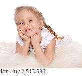 Купить «Портрет маленькой девочки», фото № 2513586, снято 21 апреля 2011 г. (c) Гладских Татьяна / Фотобанк Лори