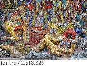Купить «Фрагменты мозаичного дворика в Санкт-Петербурге на улице Чайковского, 2», фото № 2518326, снято 7 мая 2011 г. (c) Наталья Белотелова / Фотобанк Лори