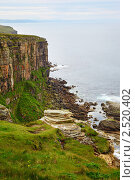 Скалы на берегу моря (2010 год). Стоковое фото, фотограф Serg Zastavkin / Фотобанк Лори