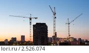 Купить «Строительство. Москва», фото № 2526074, снято 11 мая 2011 г. (c) E. O. / Фотобанк Лори