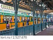 Купить «Железнодорожная станция», фото № 2527670, снято 4 мая 2011 г. (c) Parmenov Pavel / Фотобанк Лори