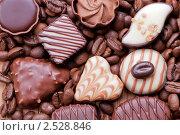 Купить «Шоколадные конфеты», фото № 2528846, снято 11 мая 2011 г. (c) Glen_Cook / Фотобанк Лори