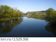 Купить «Утренняя река», фото № 2529306, снято 1 мая 2011 г. (c) Борис Панасюк / Фотобанк Лори