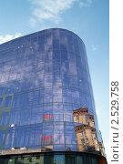 Фасад бизнес-центра на Тверской-Ямской. Стоковое фото, фотограф Сергей Жинко / Фотобанк Лори