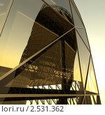 Купить «Архитектурная абстракция», иллюстрация № 2531362 (c) Юрий Бельмесов / Фотобанк Лори