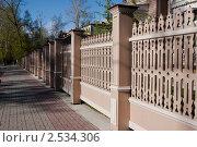 Деревянный забор (2011 год). Стоковое фото, фотограф Алексей Смелков / Фотобанк Лори