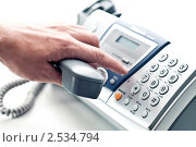 Купить «Набор телефонного номера», фото № 2534794, снято 10 мая 2011 г. (c) Александр Фисенко / Фотобанк Лори