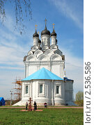 Купить «Церковь Благовещения Пресвятой Богородицы в Тайнинском», эксклюзивное фото № 2536586, снято 2 мая 2010 г. (c) lana1501 / Фотобанк Лори