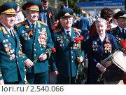 Купить «Ветераны Великой Отечественной», фото № 2540066, снято 9 мая 2011 г. (c) Оксана Лычева / Фотобанк Лори