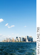 Купить «Небоскребы Нью-Йорка», фото № 2542790, снято 5 сентября 2010 г. (c) Elnur / Фотобанк Лори