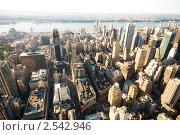 Купить «Небоскребы Нью-Йорка», фото № 2542946, снято 6 сентября 2010 г. (c) Elnur / Фотобанк Лори