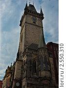 Чехия. Прага. Городская ратуша (2010 год). Стоковое фото, фотограф Александра Гаевская / Фотобанк Лори