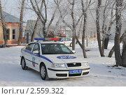 Купить «Автомобиль дорожно - патрульной службы», эксклюзивное фото № 2559322, снято 19 марта 2011 г. (c) Free Wind / Фотобанк Лори