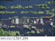 Купить «Паводок в деревне», фото № 2561294, снято 30 июня 2007 г. (c) Владимир Мельников / Фотобанк Лори