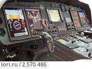 Купить «Салон вертолета», фото № 2570486, снято 21 мая 2011 г. (c) Игорь Долгов / Фотобанк Лори