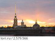 Купить «Петропавловская крепость. Санкт-Петербург», фото № 2579566, снято 19 апреля 2011 г. (c) Алексей Ширманов / Фотобанк Лори