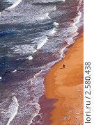 Вид сверху на пляж, Рамла (Гозо, Мальтийские острова) Стоковое фото, фотограф Яков Филимонов / Фотобанк Лори