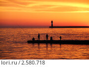 Закат. Стоковое фото, фотограф Марина Трудова / Фотобанк Лори