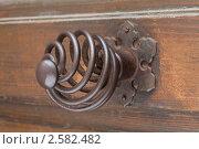 Купить «Дверная ручка», фото № 2582482, снято 3 июня 2011 г. (c) Михаил Иванов / Фотобанк Лори