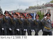 Купить «В строю курсанты МВД», эксклюзивное фото № 2588110, снято 9 мая 2011 г. (c) Free Wind / Фотобанк Лори