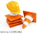 Купить «Натюрморт на тему строительства, рендеринг», иллюстрация № 2595982 (c) Юдин Владимир / Фотобанк Лори