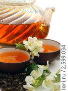 Купить «Чай с жасмином», фото № 2599034, снято 13 июня 2011 г. (c) Татьяна Белова / Фотобанк Лори