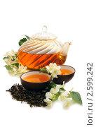 Купить «Чай с жасмином», фото № 2599242, снято 13 июня 2011 г. (c) Татьяна Белова / Фотобанк Лори