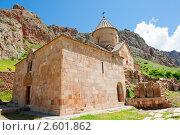 Купить «Церковь. Нораванк. Армения», фото № 2601862, снято 9 июня 2011 г. (c) Екатерина Овсянникова / Фотобанк Лори