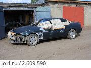 Купить «Минифирма по покраске автомобилей», фото № 2609590, снято 3 июня 2011 г. (c) Анатолий Матвейчук / Фотобанк Лори