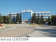 Анапа.Здание администрации (2009 год). Стоковое фото, фотограф Кирилл Королёв / Фотобанк Лори