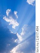 Вечернее небо. Стоковое фото, фотограф Сергей Жинко / Фотобанк Лори