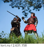 Купить «Битва рыцарей», фото № 2631158, снято 5 июня 2010 г. (c) Яков Филимонов / Фотобанк Лори