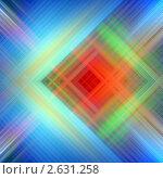 Купить «Абстрактный фон с диагональными линиями», иллюстрация № 2631258 (c) Марат Утимишев / Фотобанк Лори