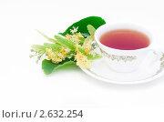Купить «Чай с цветками липы», фото № 2632254, снято 1 июля 2011 г. (c) Макарова Елена / Фотобанк Лори