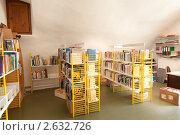Купить «Интерьер деревенской библиотеки. Франция.», фото № 2632726, снято 12 июня 2011 г. (c) Михаил Иванов / Фотобанк Лори