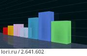 Купить «Диаграмма роста», видеоролик № 2641602 (c) Сергей Куров / Фотобанк Лори