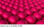 Купить «Красные шары», видеоролик № 2642530 (c) Сергей Куров / Фотобанк Лори