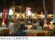 Ресторан в отеле. Стоковое фото, фотограф Евгений Можаровский / Фотобанк Лори