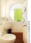 Купить «Интерьер ванной комнаты», фото № 2644214, снято 23 мая 2011 г. (c) Алексей Кузнецов / Фотобанк Лори