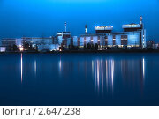 Купить «Южноукраинская атомная электростанция ночью. HDR обработка.», фото № 2647238, снято 23 мая 2018 г. (c) Александр Куличенко / Фотобанк Лори