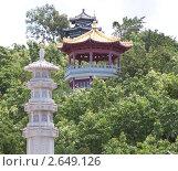 Буддийский центр Няньшань (2011 год). Стоковое фото, фотограф Шарипова Лилия / Фотобанк Лори